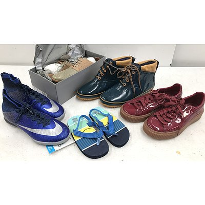 Bulk Lot of Brand New Shoes - RRP Over $300