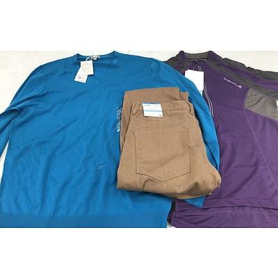 Bulk Lot of Brand New Men's Clothing - RRP Over $400