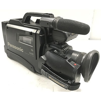 Panasonic NV-M40 VHS Movie Camera