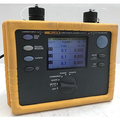 Fluke 1735 Three Phase Power Logger - ORP $3,999