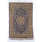 Persian Style Hand Knotted Small Wool Rug