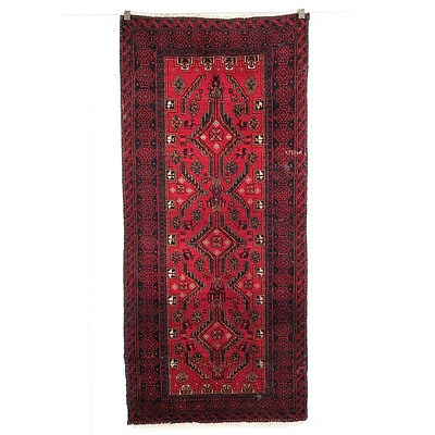 Baluch Hand Knotted Wool Pile Rug