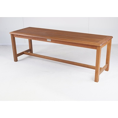 Pair of FSC Outdoor Timber Benches