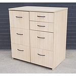 Contemporary Laminate Chest of Drawers