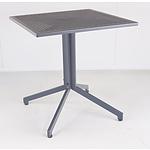 Metal Outdoor Patio Table