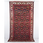 Hand Knotted Wool Pile Rug