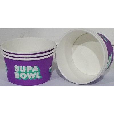350ml Biopak Custom Bio Bowls - Lot of 500 - Brand New