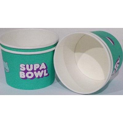 230ml Biopak Custom Bio Bowls - Lot of 1000 - Brand New