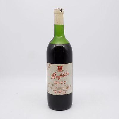 Penfolds Vintage 1969 Kalimna Dry Red Shiraz Bin 28 750mL