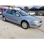 6/2003 Renault Laguna Privilege  5d Hatchback Blue 2.9L