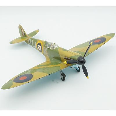 Hand Painted Supermarine Spitfire Mk-I Model Plane