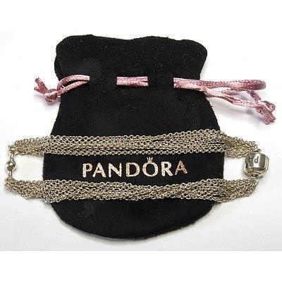 Genuine PANDORA Multi-strand Bracelet