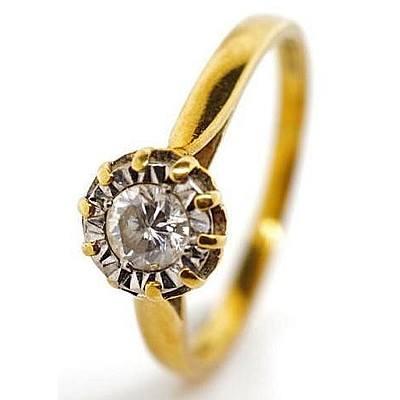 Vintage 18ct Diamond Ring