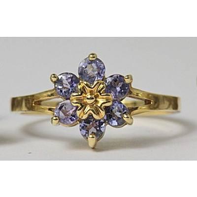 14ct Gold Tanzanite Ring