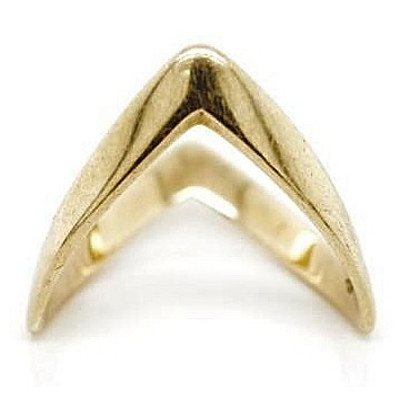 9ct gold modernistic Ring