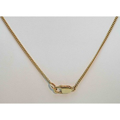 9ct Gold Chain - curb link