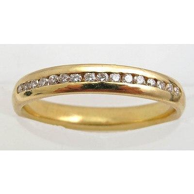 18ct Gold Eternity/Wedding style Ring