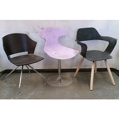 Group of Contemporary Chairs