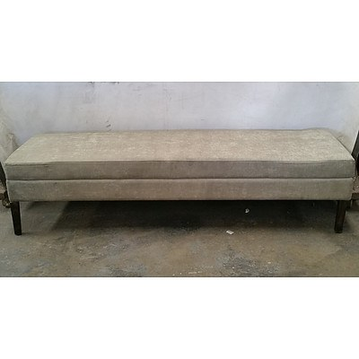 Grey Upholstered Day Bed