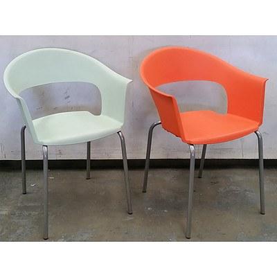 Two Sedie Armchairs