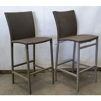 Rauch Outdoor Bar Chair and Another