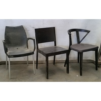 Selection of Black Chairs