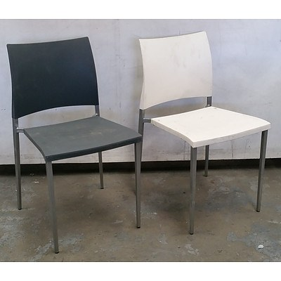 Six Biebi Cafe Chairs