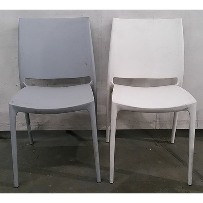 Plastic Chairs - Lot Of 4