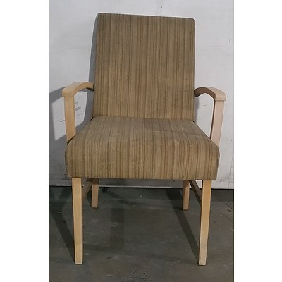 Modern Timber Chair - Lot Of 2