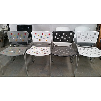 Contemporary Occasional Chairs Lot of Eight
