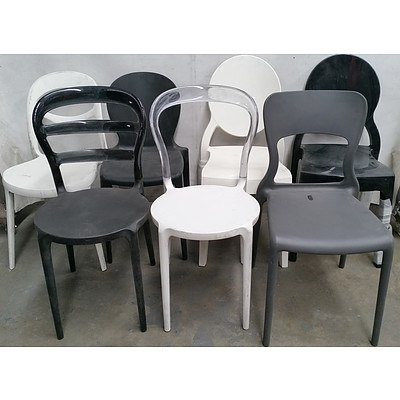 Contemporary Occasional Chairs - Lot of Seven