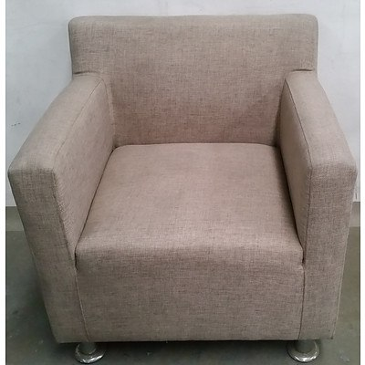Contemporary Occasional Armchair
