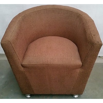 Contemporary Occasional Tub Chair