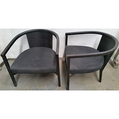 Contemporary Occasional Tub Chairs - Lot of 11
