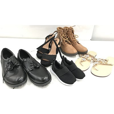 Bulk Lot of Brand New Shoes - RRP Over $500