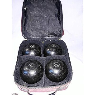 Henselite Bowling Balls & case