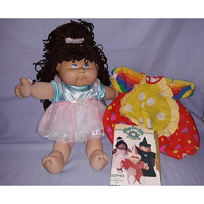 Cabbage Patch doll & accessories