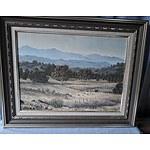 Oil on Canvas Morning Light St Flinders Ranges