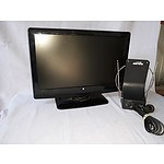 19 LCD TV with inbuilt DVD player & Indoor antenna