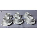 6 Expresso Cups & Saucers (NEW)