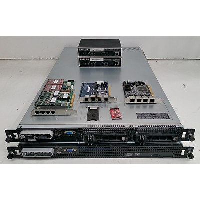 Bulk Lot of Assorted IT Equipment - Servers, Routers & Modules