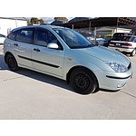 11/2002 Ford Focus CL LR 5d Hatch Silver 2.0L