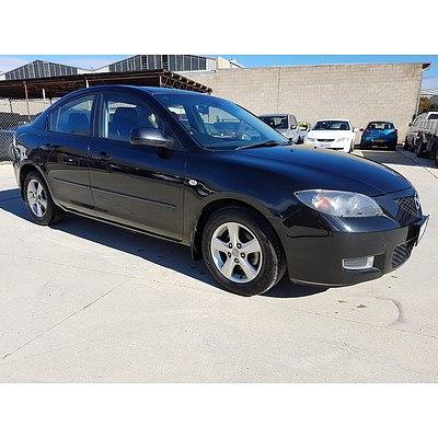 6/2008 Mazda Mazda3 NEO Sport BK MY08 4d Sedan Black 2.0L