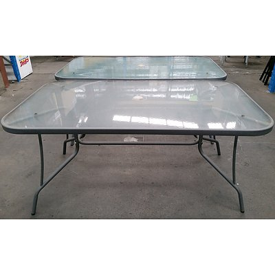 Outdoor Dining Tables - Lot of 4