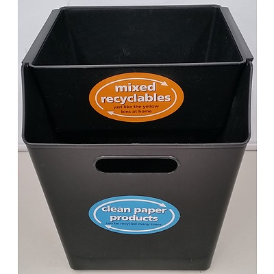 Paper to Paper Recycling Bin Sets - Lot of 220