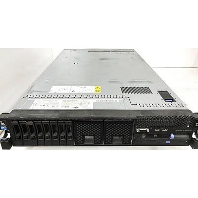 IBM System x3650 M3 Dual Hexa-Core Xeon E5645 2.4GHz 2 RU Server