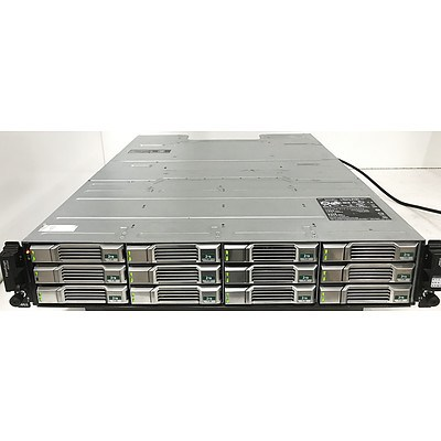 Dell EqualLogic PS4100 12 Bay Hard Drive Array with 24TB of Storage