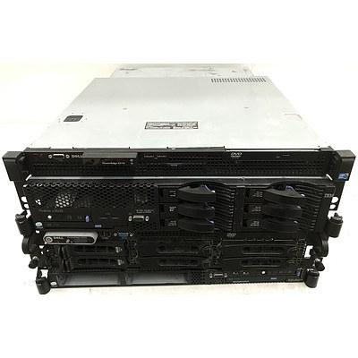 IBM & Dell Servers - Lot of 4