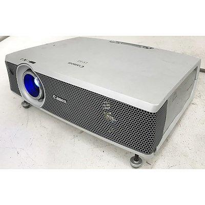 Canon & Toshiba SVGA 3LCD Projectors
