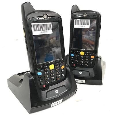 Motorola MC659b Handheld Mobile Computers - Lot of 10